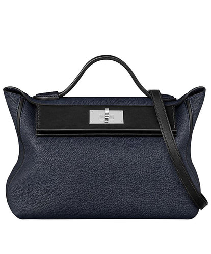 Hermes Sac 24/24 Bag D Blue
