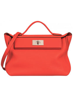Hermes Sac 24/24 Bag Red