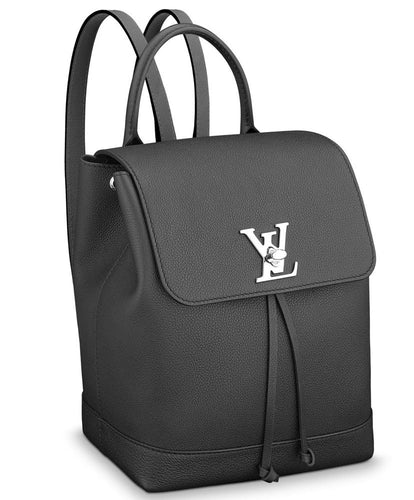 Louis Vuitton Lockme Backpack Black
