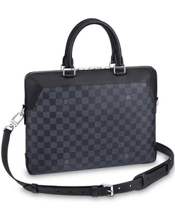 Louis Vuitton Oliver Briefcase Black