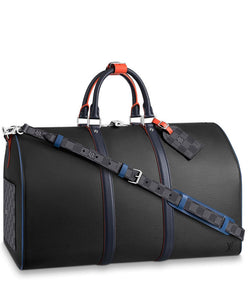 Louis Vuitton Keepall Bandouliere Black