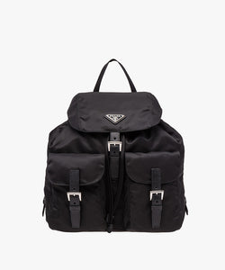 Prada Fabric Backpack Black