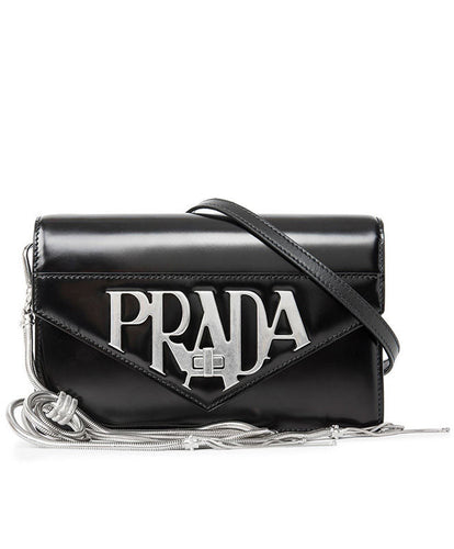 Prada Logo Plaque Crossbody Bag 2 colors