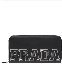 Prada Document Holder Black