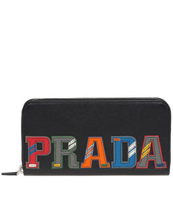 Prada Document Holder Orange
