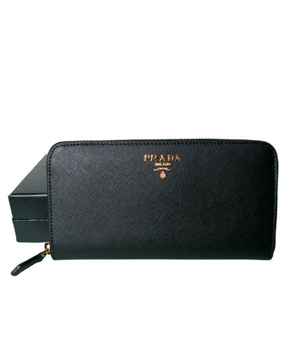 Prada Zippy Wallet Black