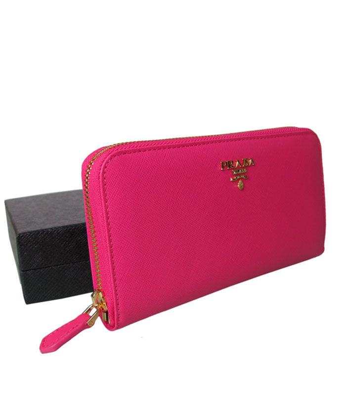 3add00dcf1346d Prada Zippy Wallet Peachblow - hn4us ...