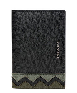 Prada credit card holder Green