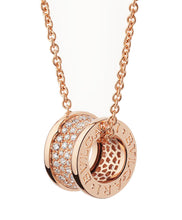 Bvlgari B.zero 1 Necklace Pink Gold