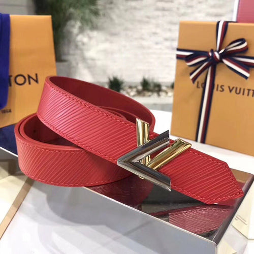 Louis Vuitton LV Twist 30MM Belt Epi Canvas 4 colors
