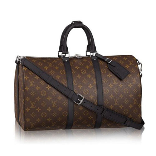 Louis Vuitton Keepall Bandouliere 45 Duffel Bag Damier Ebene Canvas 3 colors