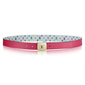 Louis Vuitton LV Cut 30MM Reversible Belt Monogram Multicolore
