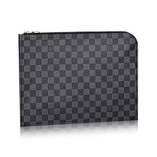 Louis Vuitton  Pochette Jour  Damier Graphite Canvas 2 Size GM-PM