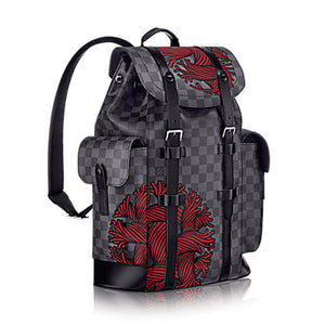 Louis Vuitton Christopher PM Backpack Damier Graphite Canvas