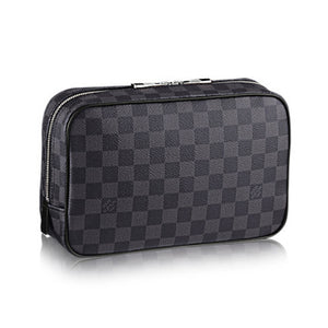 Louis Vuitton Toilet Pouch GM Damier Graphite Canvas