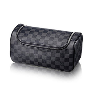 Louis Vuitton Toiletry Pouch Damier Graphite Canvas