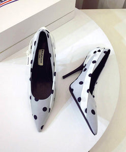 Balenciaga Women's Polka Dot Knife 110 Pumps 2 colors