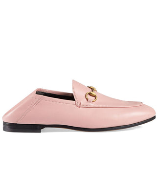 Gucci Leather Horsebit Loafer Pink