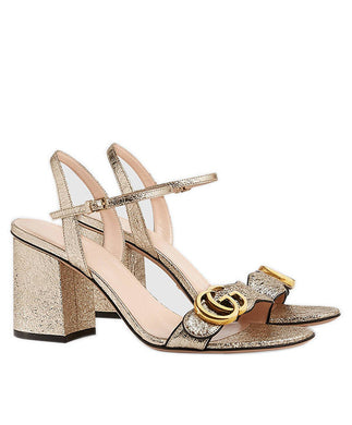 Gucci Leather mid-heel sandal 2 colors