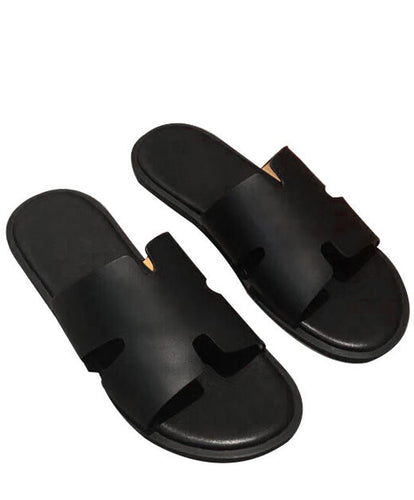 Hermes Men's Izmir Sandal Black