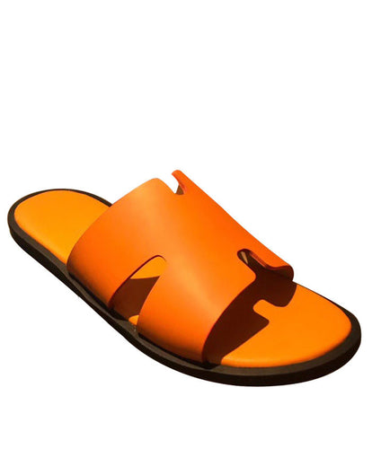 Hermes Men's Izmir Sandal Orange
