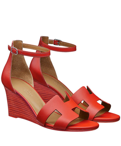 Hermes Legend Sandal Red