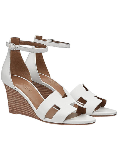 Hermes Legend Sandal White