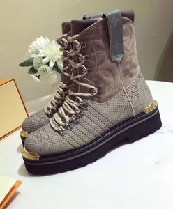 Louis Vuitton Unisex LV Outland Ankle Boot Green