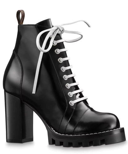 Louis Vuitton Women's Star Trail Ankle Boot Black