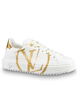 Louis Vuitton Women's Time Out Sneaker Gold