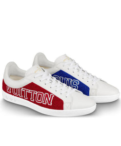 Louis Vuitton Unisex Luxembourg Sneaker Red