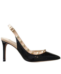 Valentino Women's Leather Pumps Black