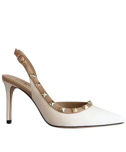 Valentino Women's Leather Pumps White