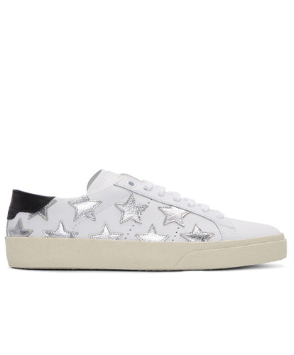 Saint Laurent SL06 Court Classic Leather Sneakers 4 colors