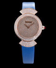 Bvlgari s Lady Diamond Automatic Watch Blue