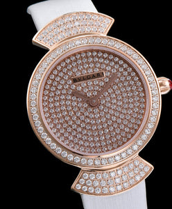 Bvlgari s Lady Diamond Automatic Watch White