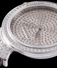 Bvlgari s Stainless Steel Lady Diamond Watch Light Cofee