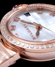 Bvlgari Lvcea Diamonds Automatic Watch White