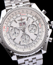 Breitling Bentley Stainless Steel Watch White