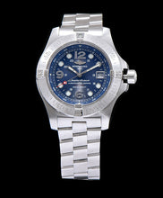 Breitling Chronospace stainless steel Watch Blue