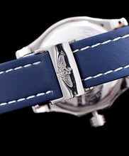Breitling leather strap watch Blue