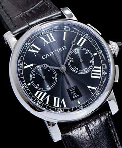 Cartier Wrist Time For Man Black