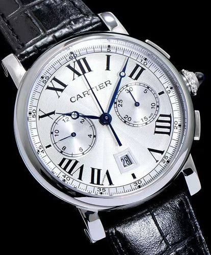 Cartier Wrist Time For Man White
