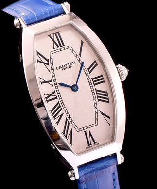 Cartier Automatic Watch For Women Blue - hn4us