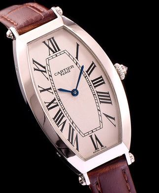 Cartier Automatic Watch For Women Brown - hn4us
