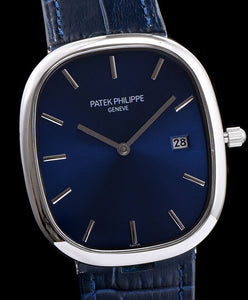 patek philippe Stainless Steel Watch Blue