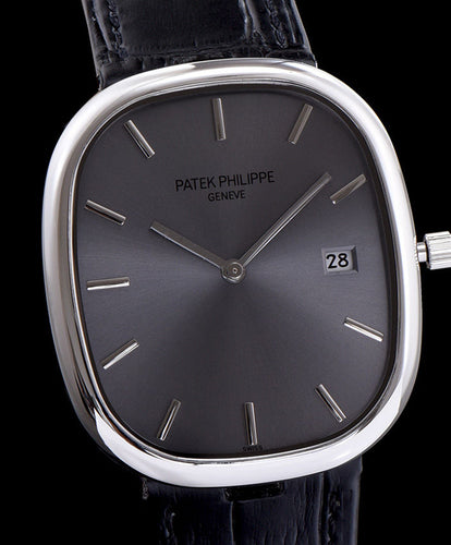 patek philippe Stainless Steel Watch Black