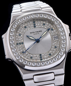 Patek Philippe full diamond watch for men White