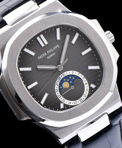 Patek Philippe Stainless Steel Watch For Men Gray