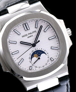 Patek Philippe Stainless Steel Watch For Men White